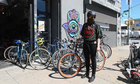 For many, bicycles have also become a symbol of freedom in the pandemic.