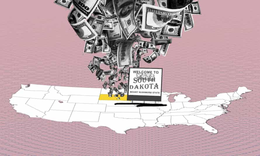 Files suggest the US midwestern state now rivals other famous tax havens as a premier venue for the international rich