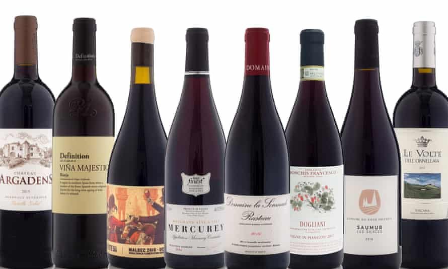 red £10-£20 OFM Xmas wines 2019