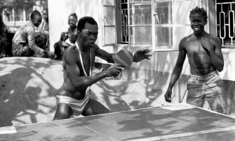Fela Kuti smashing it