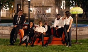 Tiffany Haddish in the Friends-parodying, Jay-Z video for Moonlight