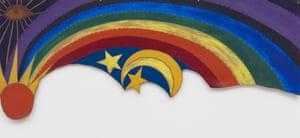 Betye Saar, Rainbow Mojo, 1972.