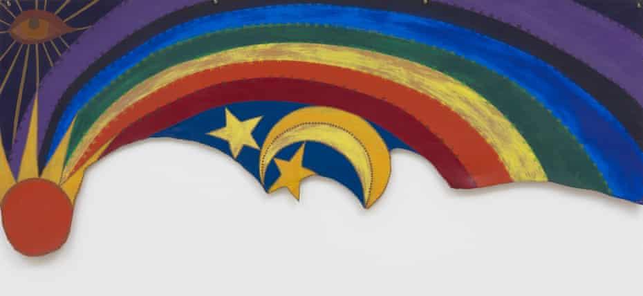 Betye Saar's Rainbow Mojo, 1972.