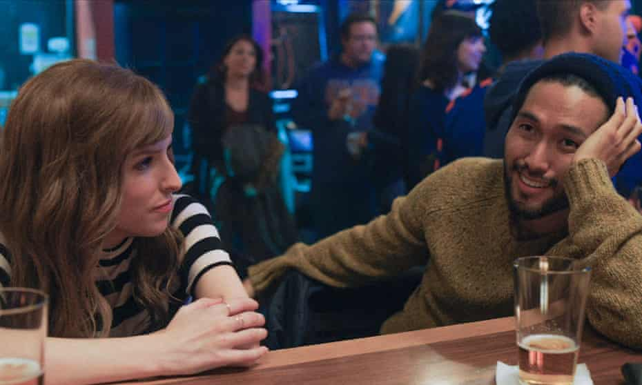 Moving on … Anna Kendrick and Jin Ha in Love Life.