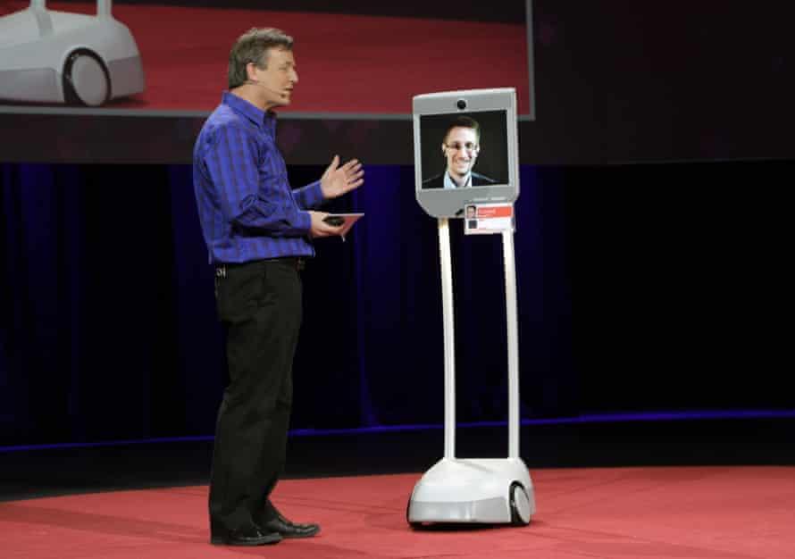 Edward Snowden Snowbot