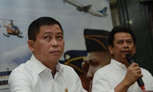 Indonesia's transport minister, Ignasius Jonan