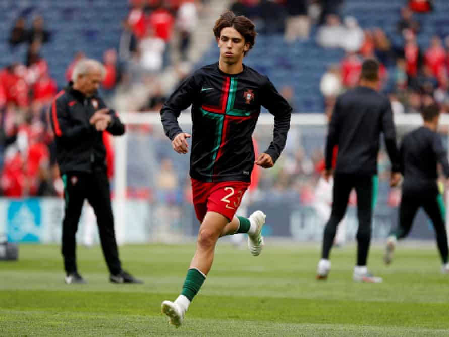 João Félix made his international debut for Portugal against Switzerland in the Nations League in June.