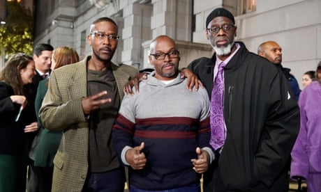Why three men spent 36 years in prison for a crime they didn't commit