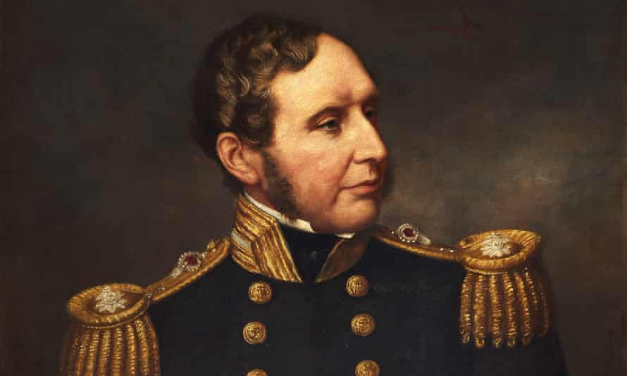 Vice-admiral Robert Fitzroy portrait
