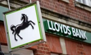 A Lloyds Bank branch.