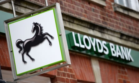 A Lloyds bank branch