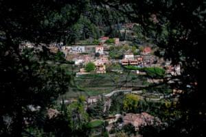 The village of Gallifa, near Barcelona.