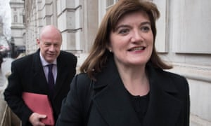 Damian Green and Nicky Morgan
