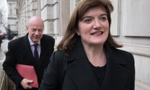 Damian Green and Nicky Morgan, who with Amber Rudd and Sir Nicholas Soames have re-formed the One Nation Caucus of Conservatives which is organising leadership hustings.