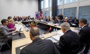 An Efta ministerial meeting in Geneva
