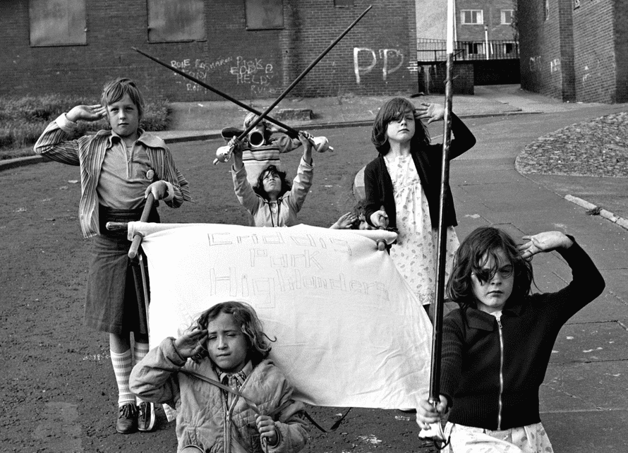 Noble Street, from the series Juvenile Jazz Bands, 1979.
