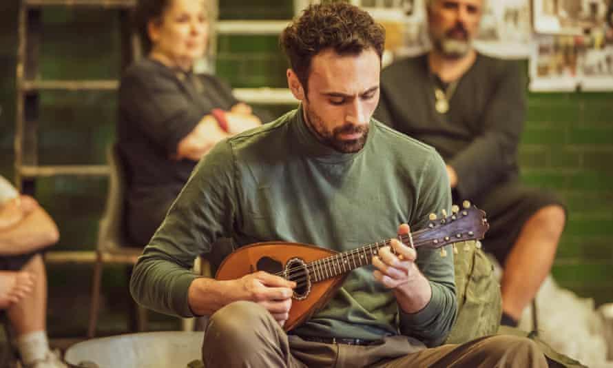 Alex Mugnaioni in Captain Corelli's Mandolin.