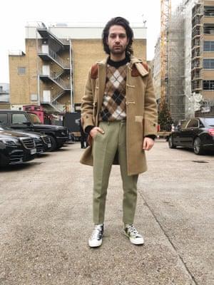 Angelo Mitakos Senior fashion assistant at British GQ