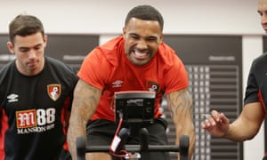 Callum Wilson's fitness is checked at Bournemouth on their first day of pre-season training.
