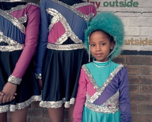 Amber Matthews is one of the 'babies' of the team, as the younger members in the drum majorettes team are affectionately known.