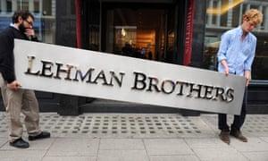 lehman brothers failure reasons
