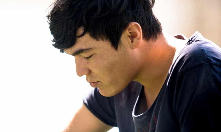 Hazaras, 17, is from one of Afghanistan's most persecuted minorities, the Hazaras.