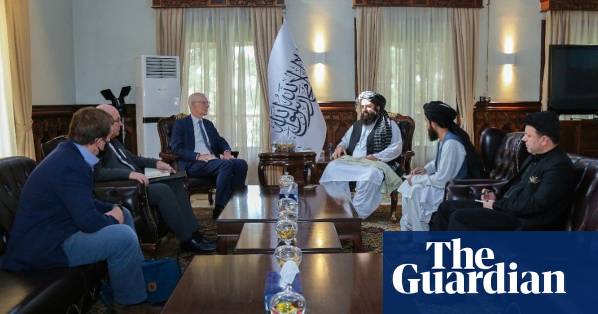 UK officials return to Afghanistan to meet Taliban for first time since takeover