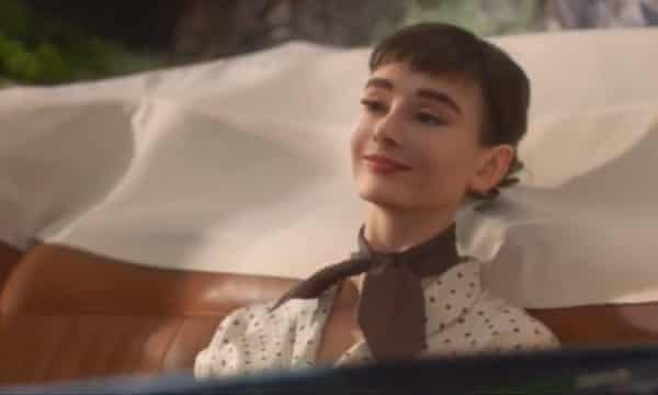 Audrey Hepburn was resurrected in 2013 for a Galaxy chocolate ad.