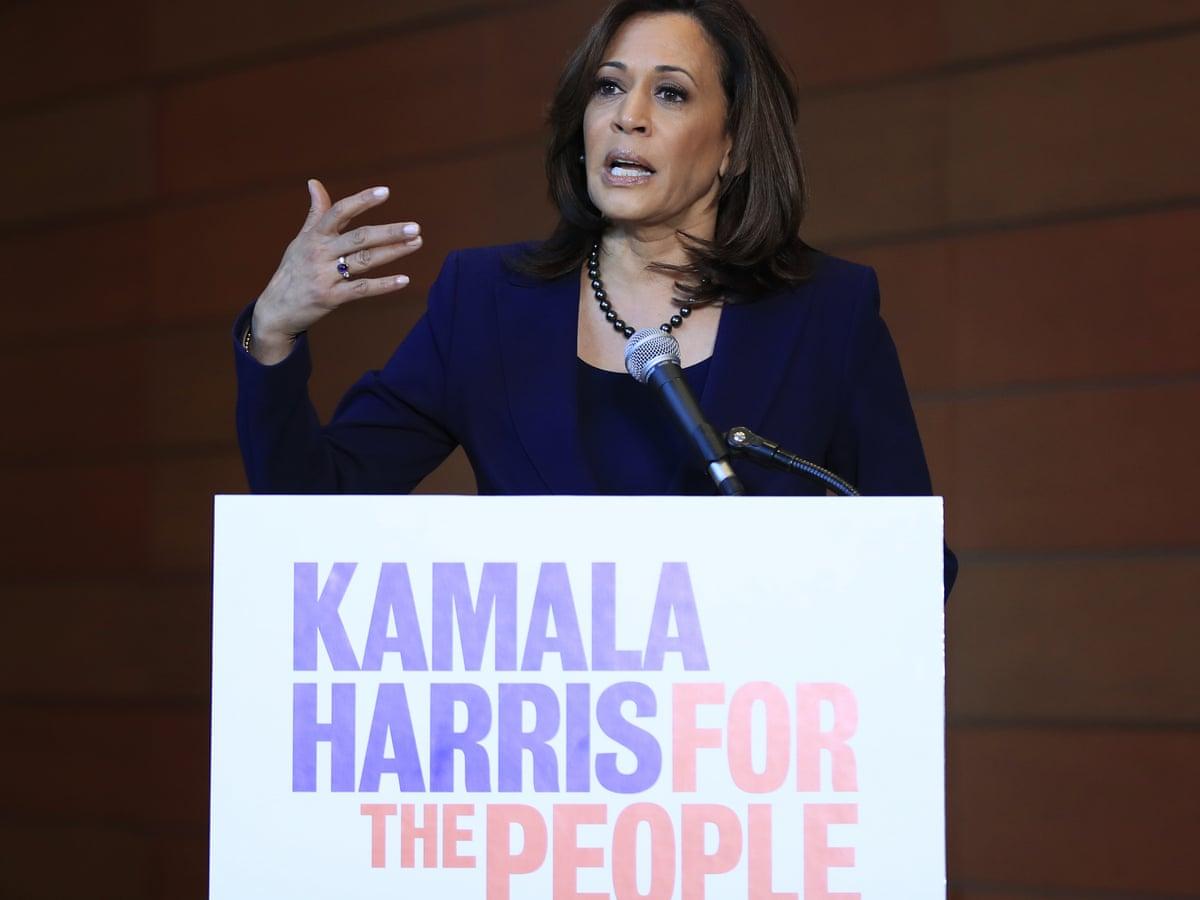 Kamala Harris Enters 2020 Bid With Tribute To Woman Who Broke Barriers Us News The Guardian
