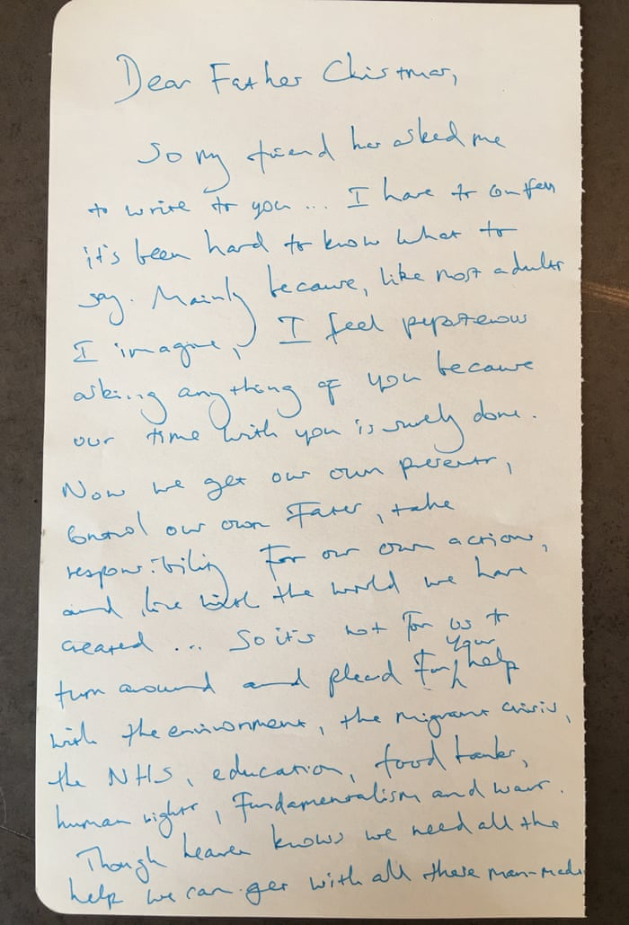 Benedict cumberbatch heads celebrity list writing letters to father benedict cumberbatch heads celebrity list writing letters to father christmas books the guardian spiritdancerdesigns Choice Image