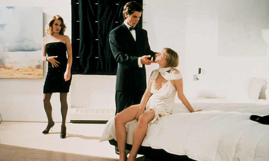 Christian Bale stars as Patrick Bateman in the film version of American Psycho, 2000.