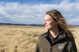 Jennifer Barfield has helped establish the Laramie Foothills Bison Conservation Herd.