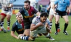 Bristol Bears shake off sore heads to deepen home gloom for Harlequins