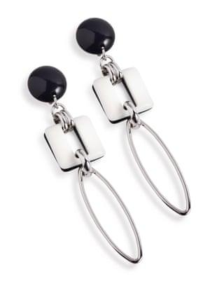 Earrings, £35, by Hobbs.