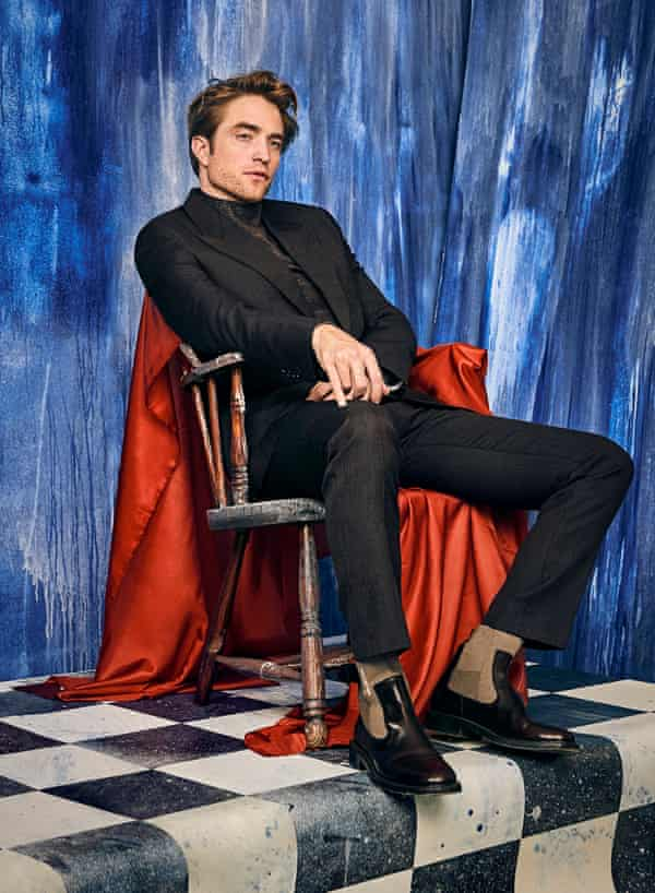 'In a lot of ways I haven't developed past 15. I still like hip-hop, Van Morrison and Jeff Buckley': Robert Pattinson wearing Dior Homme, Fall 2019.