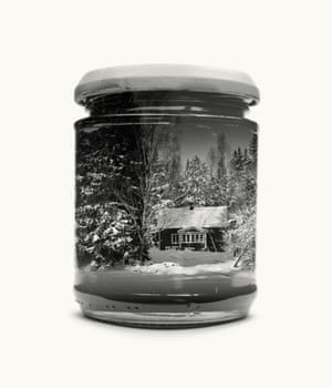 Childhood Home from Jarred & Displaced, a series by Finnish photographer Christoffer Relander