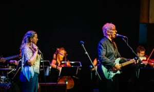 John Cale with Charlotte Church at Festival of Voice in Cardiff