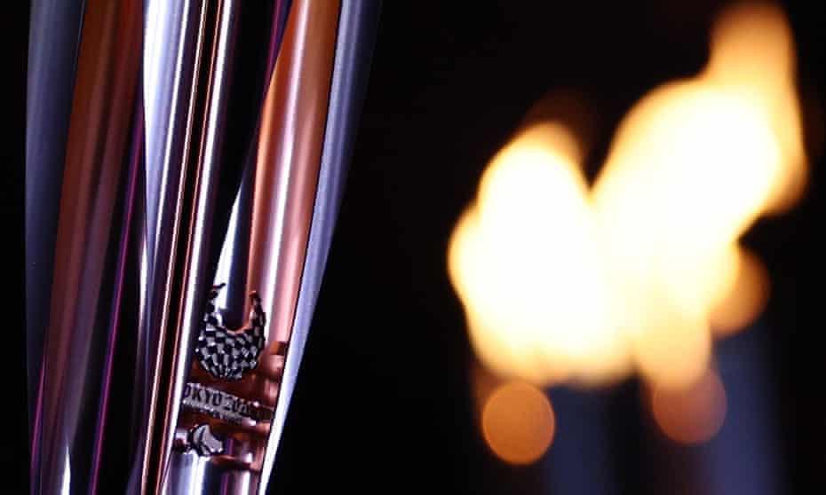 Tokyo 2020 Paralympics flame