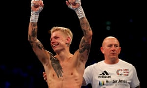 Charlie Edwards' misery turns to joy as he retains his title.