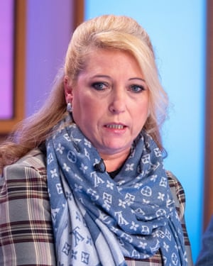 Denise Fergus, at ITV's loose women.