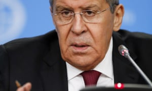 Sergei Lavrov, Russia's foreign minister, accused the US of intransigence.