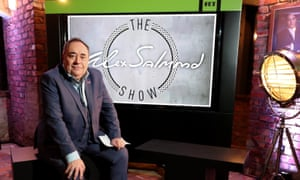Alex Salmond has been criticised for appearing on RT.