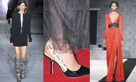 Glad rags for hire … Saint Laurent, Christian Dior and Amanda Wakeley