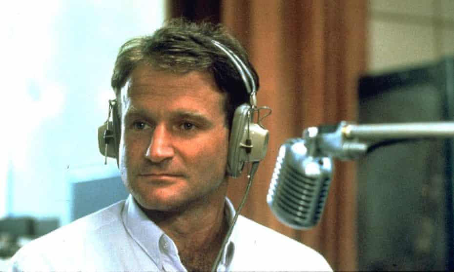Robin Williams in 1987's Good Morning Vietnam