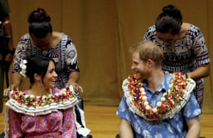 Suva, FijiHarry the Duke of Sussex and Meghan, Duchess of Sussex, visit the University of the South Pacific in Suva, Fiji. Prince Harry and his wife Meghan are on day nine of their 16-day tour of Australia and the South Pacific.