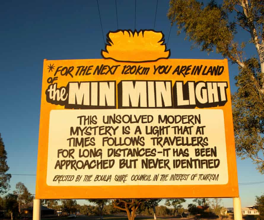 mysterious Min Min Light