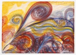 Georgiana Houghton's The Eye of God.