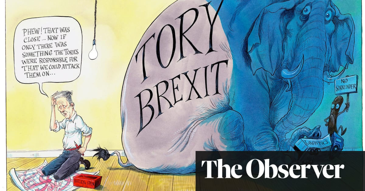 After Batley and Spen, where now for Keir Starmer? – cartoon