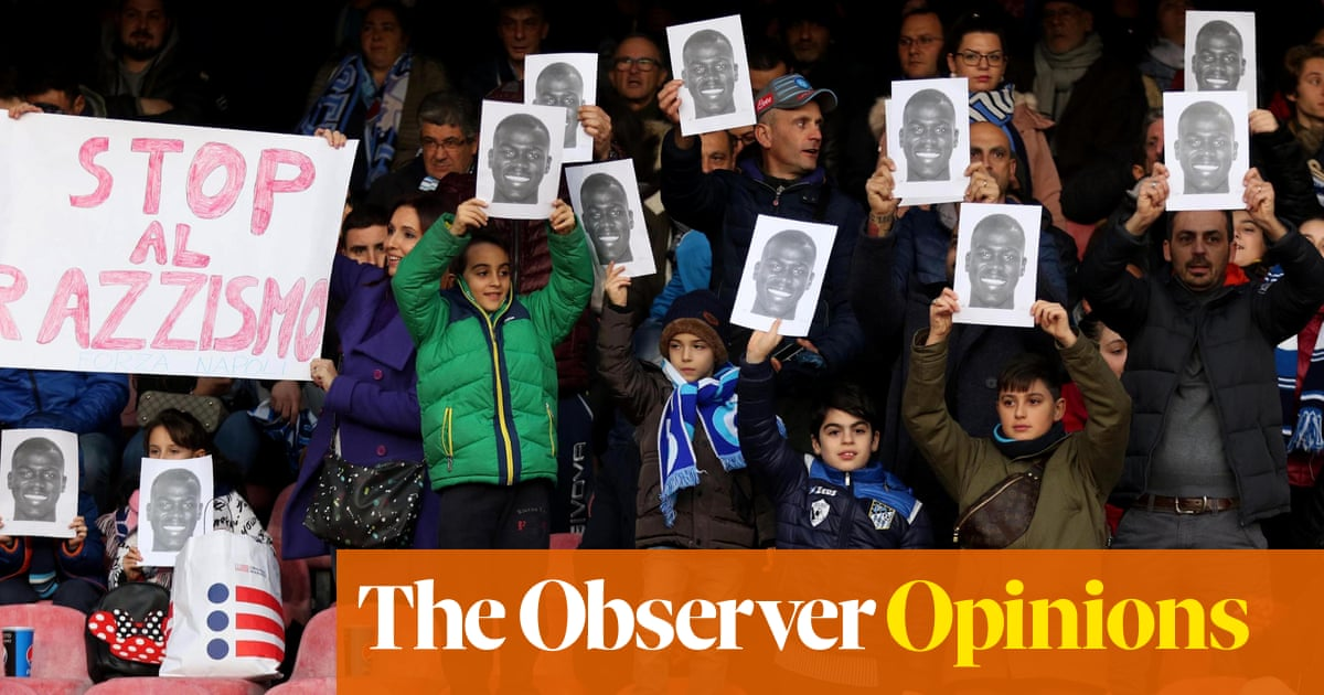 Football's diverse landscape remains polluted by racists despite our outrage  | Andrew Anthony