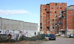 One of the self-built blocks scheduled for demolition in the bairro.